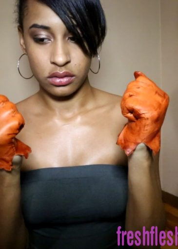 Leather Glove Jazzy Dick Jerk 1